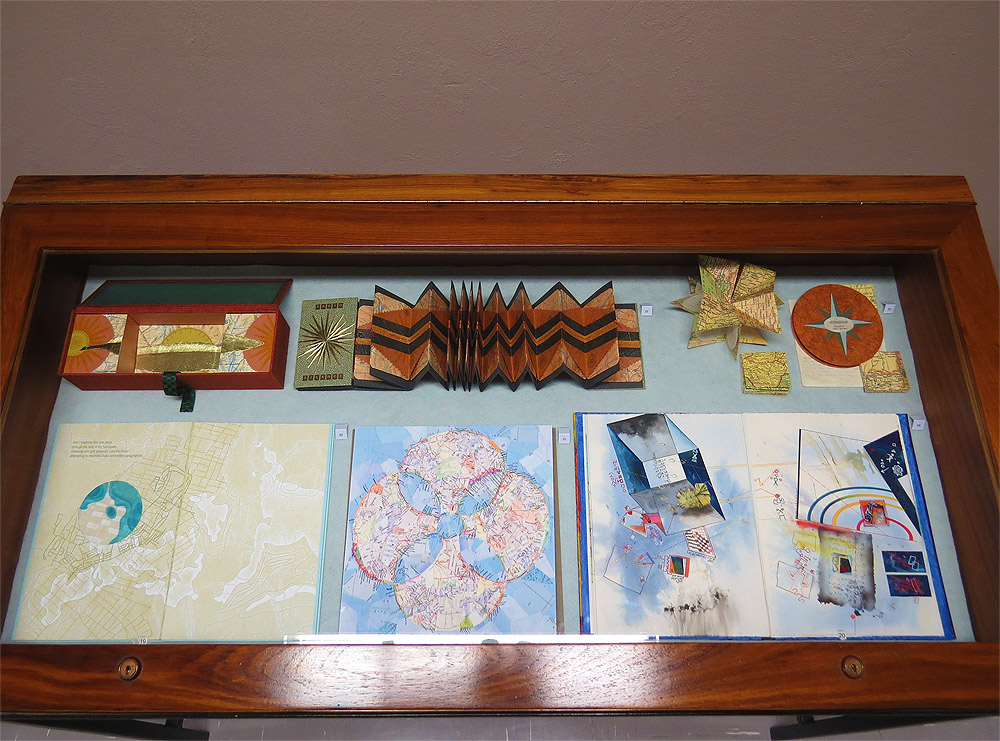 Click the image for a view of: Cabinet including Timothy Ely�s Charts & Julie Chen's Radio Silence